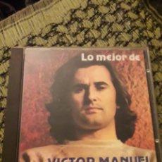 CDs de Música: LO MEJOR DE VÍCTOR MANUEL. EDICION DE 1987. RARA. Lote 194728053