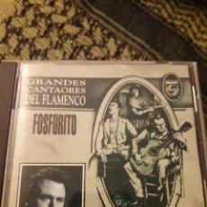 CDs de Música: FOSFORITO. GRANDES CANTAORES DEL FLAMENCO. EDICION POLYGRAM DE 1994. Lote 194730733