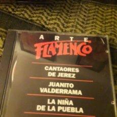 CDs de Música: ARTE FLAMENCO. VARIOS ARTISTAS. EDICION DE 1994. Lote 194731073