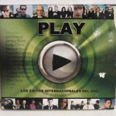 CDs de Música: PLAY LOS EXITOS INTERNACIONALES DEL AÑO - 2 X CD - DIGIPACK - 2005 - EX+/VG-. Lote 194732472
