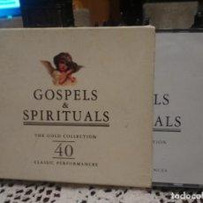 CDs de Música: GOSPELS & SPIRITUALS. THE GOLD COLLECTION. 2 CD´S . Lote 194733091