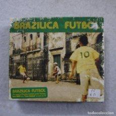 CDs de Música: BRAZILICA FUTBOL - 2 CD + DVD . Lote 194733591