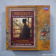CDs de Música: PUCCINI. THE GREAT OPERA COLLECTION - 15 CDS . Lote 194734321