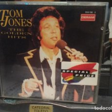 CDs de Música: TOM JONES - THE GOLDEN HITS - CD ALBUM . Lote 194734501