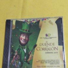 CDs de Música: CARNAVAL CD CORO EL DUENDE DEL CORRALON 2010 EMPAQUETADO. Lote 194736036