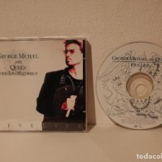 CDs de Música: CD ORIGINAL - GEORGE MICHAEL AND QUEEN - VARIOS - WITH LISA STANSFIELD - FIVE LIVE . Lote 194743808