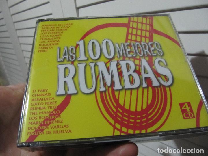 LAS 100 MEJORES RUMBAS 4 CDS EL FARY..MARIA JIMENEZ..LOS CHICHOS..RUMBA 3..LOLA FLORES..PARRITA.. (Música - CD's Flamenco, Canción española y Cuplé)