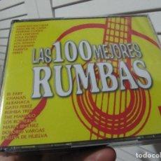 CDs de Música: LAS 100 MEJORES RUMBAS 4 CDS EL FARY..MARIA JIMENEZ..LOS CHICHOS..RUMBA 3..LOLA FLORES..PARRITA... Lote 194743836