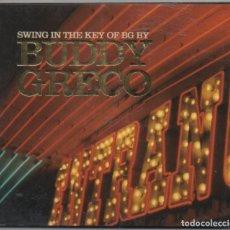 CDs de Música: BUDDY GRECO - SWING IN THE KEY OF BG BY / DIGIPACK / CD ALBUM DEL 2002 / MUY BUEN ESTADO RF-4878. Lote 194746553