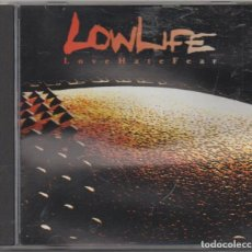 CDs de Música: LOW LIFE - LOVE HATE FEAR / CD ALBUM DE 1993 / MUY BUEN ESTADO RF-4880. Lote 194746611