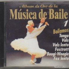 CDs de Música: ALBUM DE ORO DE LA MUSICA DE BAILE 1 / CD ALBUM DE 1997 / MUY BUEN ESTADO RF-4881. Lote 194746623