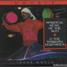 CDs de Música: SPIRITUAL MUSIC OF THE SUFI - THE WHIRLING DERVISHES / DOBLE CD DEL 2007 / MUY BUEN ESTADO RF-4882. Lote 194746667