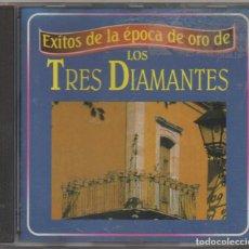 CDs de Música: EXITOS DE LA EPOCA DE ORO DE - LOS TRES DIAMANTES - / CD ALBUM DE 1997 / MUY BUEN ESTADO RF-4885. Lote 194746711