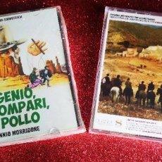 CDs de Música: UN GENIO, DUE COMPARI, UN POLLO + SONNY & JED / ENNIO MORRICONE. Lote 194747062