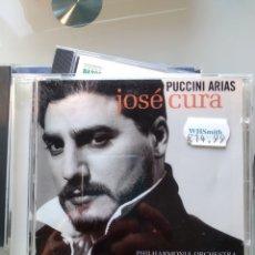 CDs de Música: JOSÉ CURA – PUCCINI ARIAS. Lote 194747121
