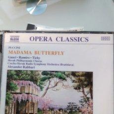 CDs de Música: PUCCINI, GAUCI, RAMIRO, TICHY, SLOVAK PHILHARMONIC CHORUS – MADAMA BUTTERFLY (DOBLE CD). Lote 194748246