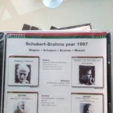 CDs de Música: WAGNER • SCHUBERT • BRAHMS • MOZART – SCHUBERT-BRAHMS YEAR 1997 (PRECINTADO). Lote 194748347