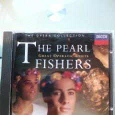 CDs de Música: THE PEARL FISHERS - GREAT OPERATIC DUETS (DECCA). Lote 194748397