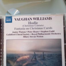 CDs de Música: VAUGHAN WILLIAM - HODIE (CHRISTMAS CANTATA) (BRITISH CHORAL). Lote 194748757