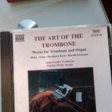 CDs de Música: ALAIN TRUDEL, PATRICK WEDD – THE ART OF THE TROMBONE. Lote 194749047