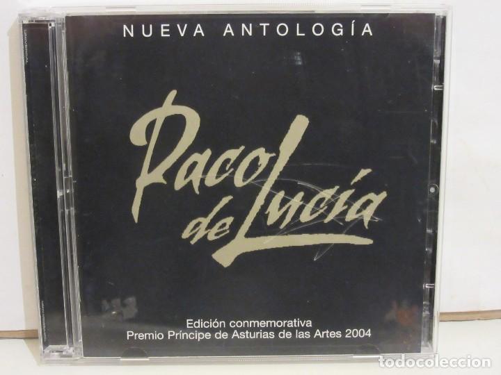 PACO DE LUCIA - NUEVA ANTOLOGIA- 2 X CD - 2004 - PRINCIPE ASTURIAS 2004 - SPAIN - NM+/VG+ (Música - CD's Flamenco, Canción española y Cuplé)