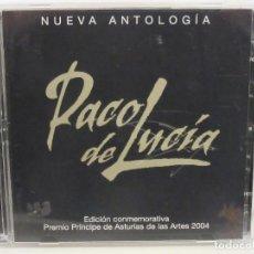 CDs de Música: PACO DE LUCIA - NUEVA ANTOLOGIA- 2 X CD - 2004 - PRINCIPE ASTURIAS 2004 - SPAIN - NM+/VG+. Lote 194754740