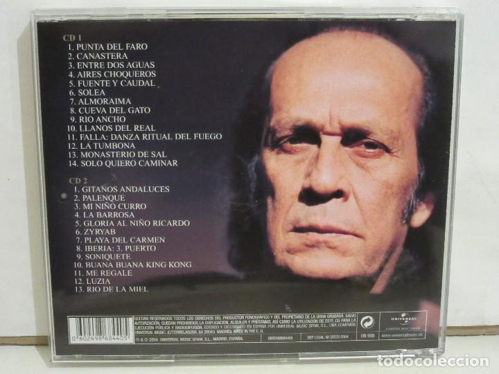 CDs de Música: Paco De Lucia - Nueva Antologia- 2 x CD - 2004 - Principe Asturias 2004 - Spain - NM+/VG+ - Foto 2 - 194754740
