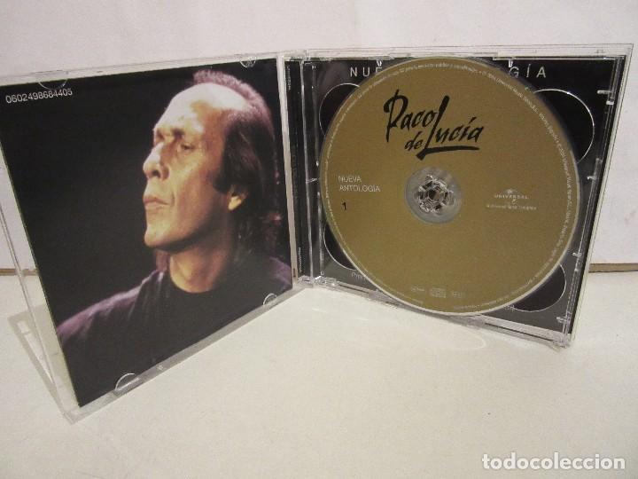 CDs de Música: Paco De Lucia - Nueva Antologia- 2 x CD - 2004 - Principe Asturias 2004 - Spain - NM+/VG+ - Foto 3 - 194754740