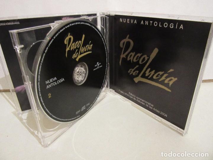 CDs de Música: Paco De Lucia - Nueva Antologia- 2 x CD - 2004 - Principe Asturias 2004 - Spain - NM+/VG+ - Foto 4 - 194754740