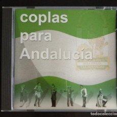 CDs de Música: CD 1999 COPLAS PARA ANDALUCÍA CARNAVAL CÁDIZ . Lote 194754960