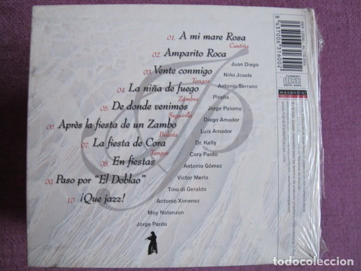 CDs de Música: JORGE PARDO - VIENTOS FLAMENCOS (CD DIGIPACK, MANANTIAL RECORDS 2005, PRECINTADO) - Foto 2 - 194760007