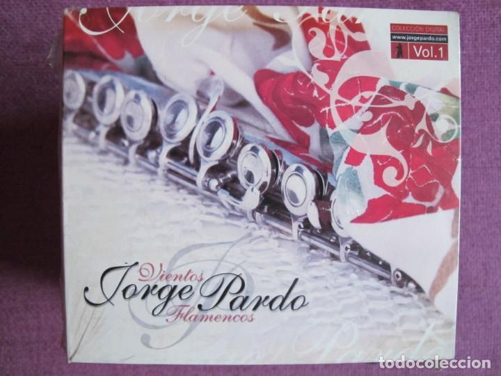 JORGE PARDO - VIENTOS FLAMENCOS (CD DIGIPACK, MANANTIAL RECORDS 2005, PRECINTADO) (Música - CD's Flamenco, Canción española y Cuplé)