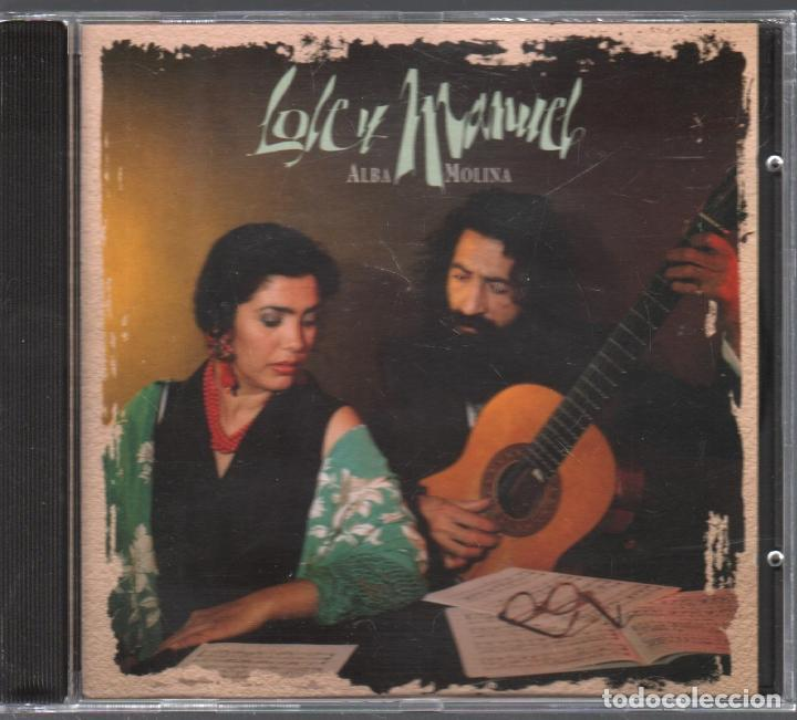 LOLE Y MANUEL - ALBA MOLINA CD ALBUM DE 1994 RF-4900 , BUEN ESTADO (Música - CD's Flamenco, Canción española y Cuplé)