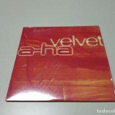 CDs de Música: 0220- VELVET A-HA PROMO CD NUEVO DESPRECINTADO LIQUIDACIÓN!!. Lote 194771081