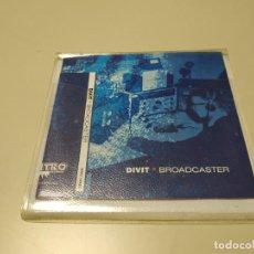 CDs de Música: 0220- DIVIT BROADCASTER 12 TRACKS CD SIN PRECINTAR LIQUIDACIÓN!!. Lote 194776331