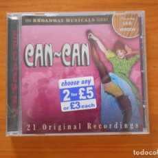 CDs de Música: CD BROADWAY MUSICALS - CAN-CAN (3E). Lote 194780147