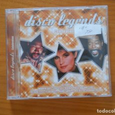 CDs de Música: CD DISCO LEGENDS - CELEBRATION - THE TEMPTATIONS, THE SUPREMES, KID CREOLE, MARVIN GAYE... (5F4). Lote 194782200