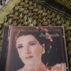 CDs de Música: LIBERTAD LAMARQUE. INSPIRACIÓN. EDICION DE 1995. RARO. Lote 194784292