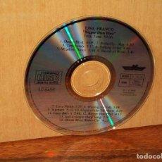 CDs de Música: FRANCO LISA - BIGGER THAN BLUE - SOLO CD SIN CARATULAS COMO NUEVO. Lote 194784903