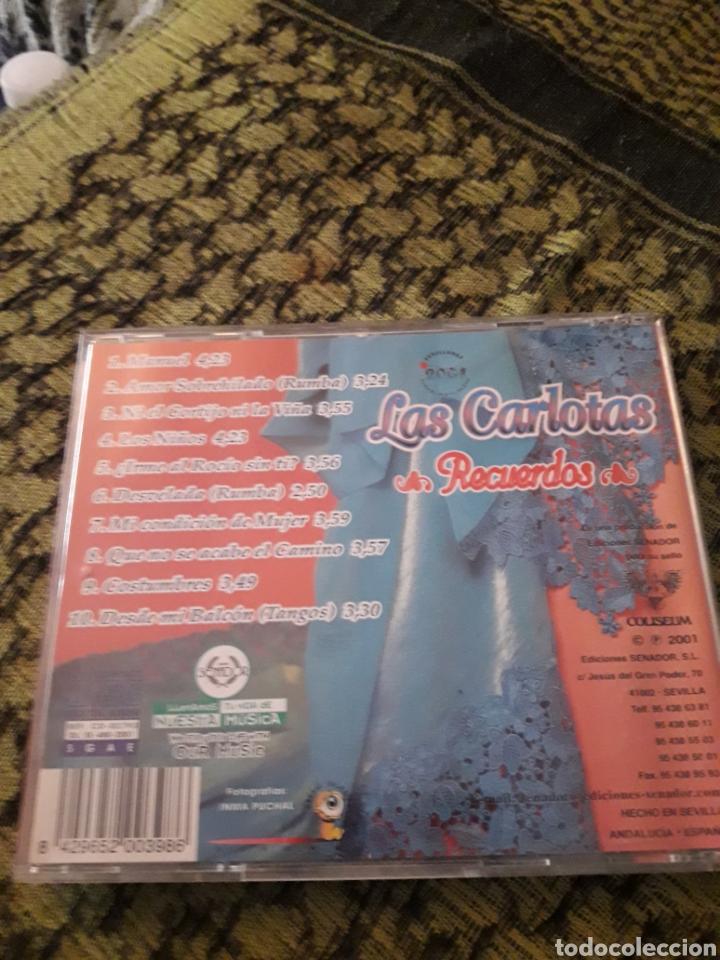 CDs de Música: Las carlotas. Recuerdos. Edicion Coliseum de 2001. - Foto 2 - 194785235