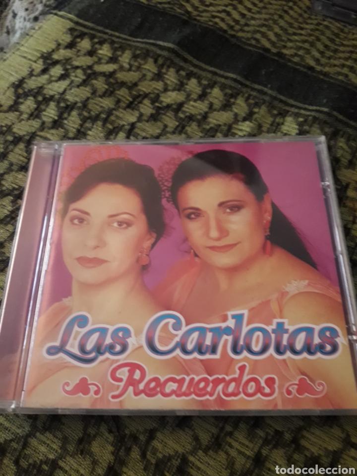 LAS CARLOTAS. RECUERDOS. EDICION COLISEUM DE 2001. (Música - CD's Flamenco, Canción española y Cuplé)