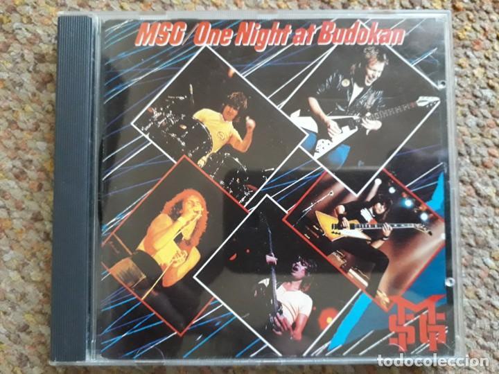 THE MICHAEL SCHENKER GROUP , ONE NIGHT AT BUDOKAN , CD 1991 ESTADO IMPECABLE (Música - CD's Heavy Metal)