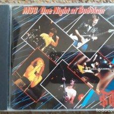 CDs de Música: THE MICHAEL SCHENKER GROUP , ONE NIGHT AT BUDOKAN , CD 1991 ESTADO IMPECABLE . Lote 194785435