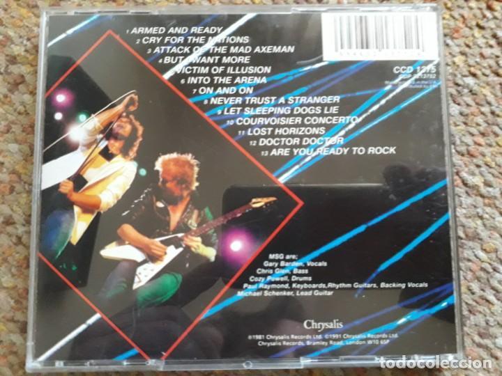 CDs de Música: The Michael Schenker Group , One Night at Budokan , CD 1991 estado impecable - Foto 2 - 194785435