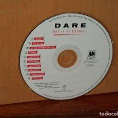 CDs de Música: DARE - OUT OF THE SILENCE - SOLO CD SIN CARATULAS COMO NUEVO. Lote 194785607