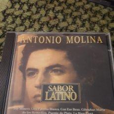 CDs de Música: ANTONIO MOLINA. SABOR LATINO. LA COPLA. EDICION DE 1996.. Lote 194786775