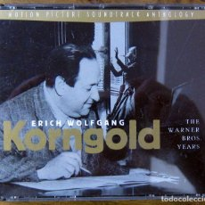 CDs de Música: BSO - ERICH WOLFGANG KORNGOLD, THE WARNER BROS. YEARS - 1996 - DOBLE CD. Lote 194787067