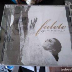 CDs de Música: FALETE CD QUIEN TE CREES TU -IMPORTADO DE ARGENTINA. Lote 194862108
