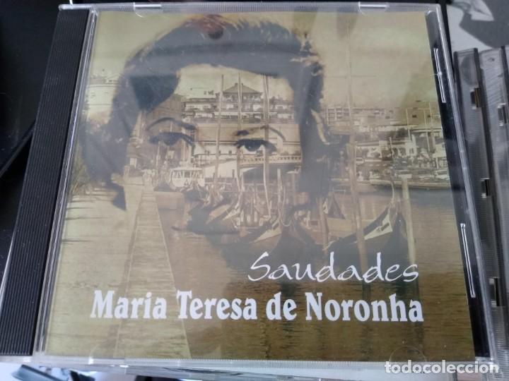 MARIA TERESA DE NORONHA -CD SAUDADES -DESCATALOGADO MUSICA DE PORTUGAL -FADOS (Música - CD's World Music)