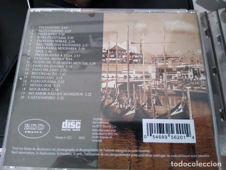 CDs de Música: MARIA TERESA DE NORONHA -CD SAUDADES -DESCATALOGADO MUSICA DE PORTUGAL -FADOS - Foto 2 - 194863210